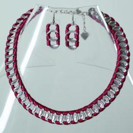 39 Collar cadena; 401 Arete cadena -
