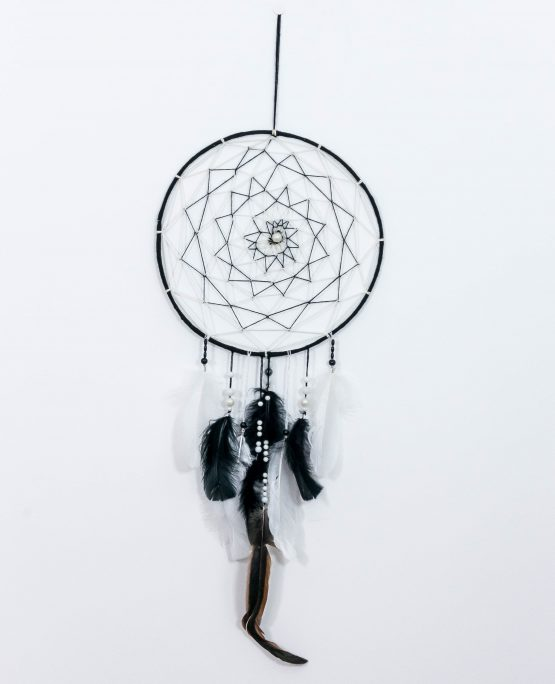 atrapasueños flor tejida