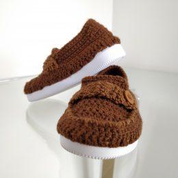 Zapato niño café